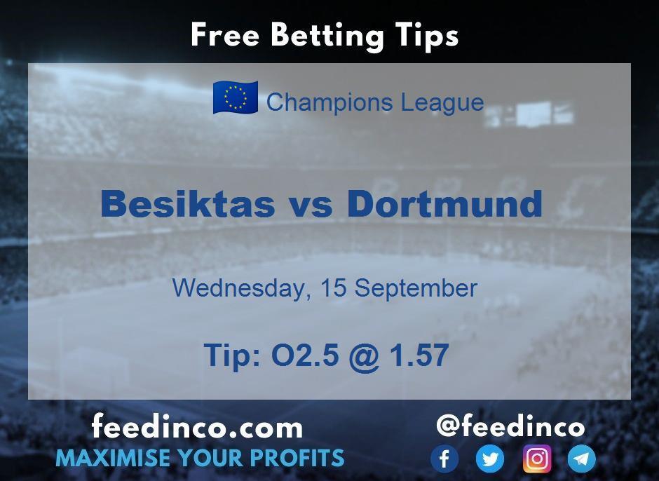Besiktas vs Dortmund Prediction