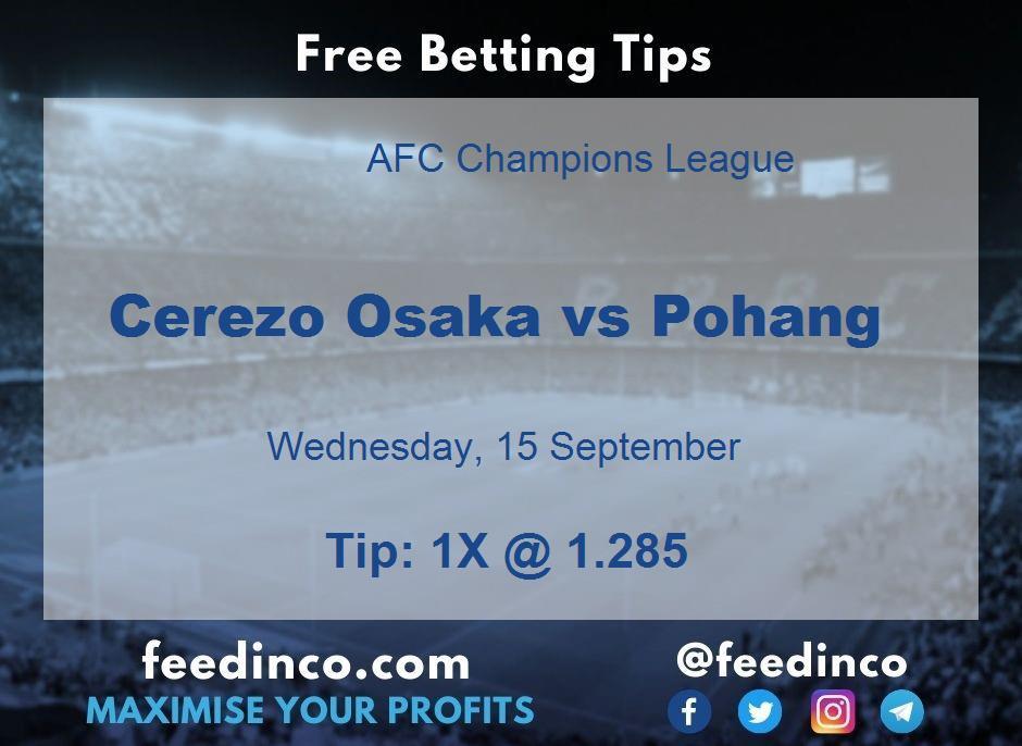Cerezo Osaka vs Pohang Prediction