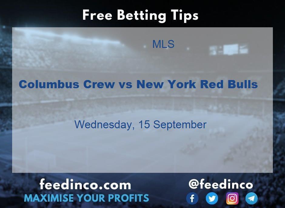 Columbus Crew vs New York Red Bulls Prediction