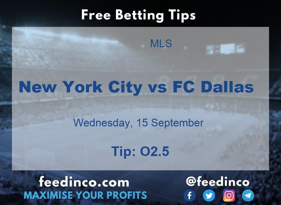 New York City vs FC Dallas Prediction