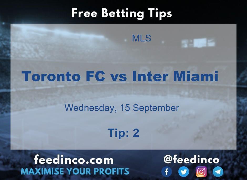 Toronto FC vs Inter Miami Prediction