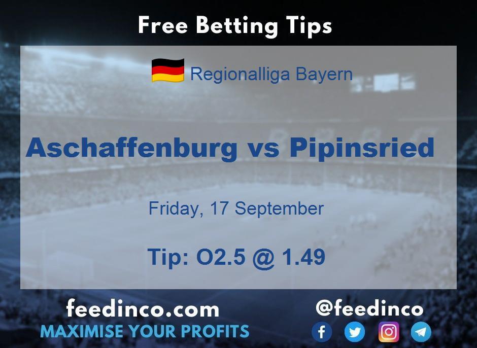 Aschaffenburg vs Pipinsried Prediction