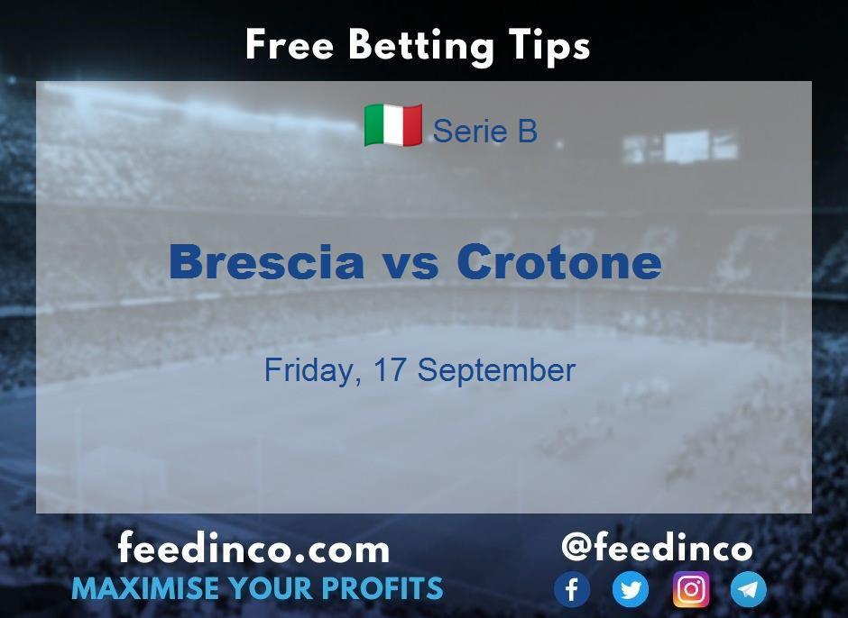 Brescia vs Crotone Prediction