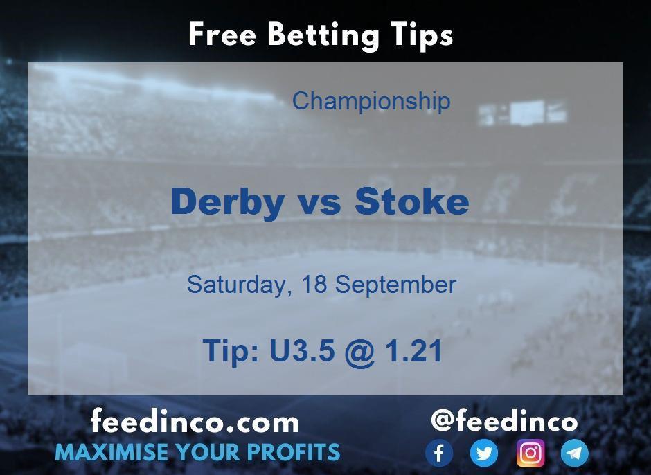 Derby vs Stoke Prediction
