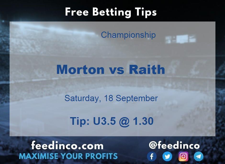 Morton vs Raith Prediction