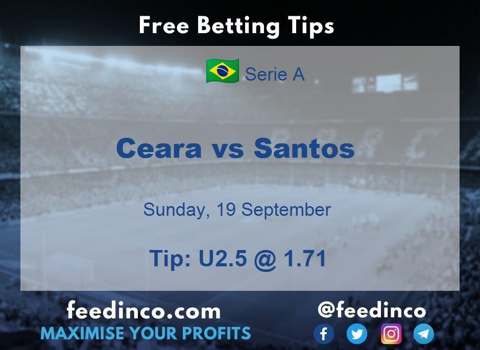 Ceara vs Santos Prediction