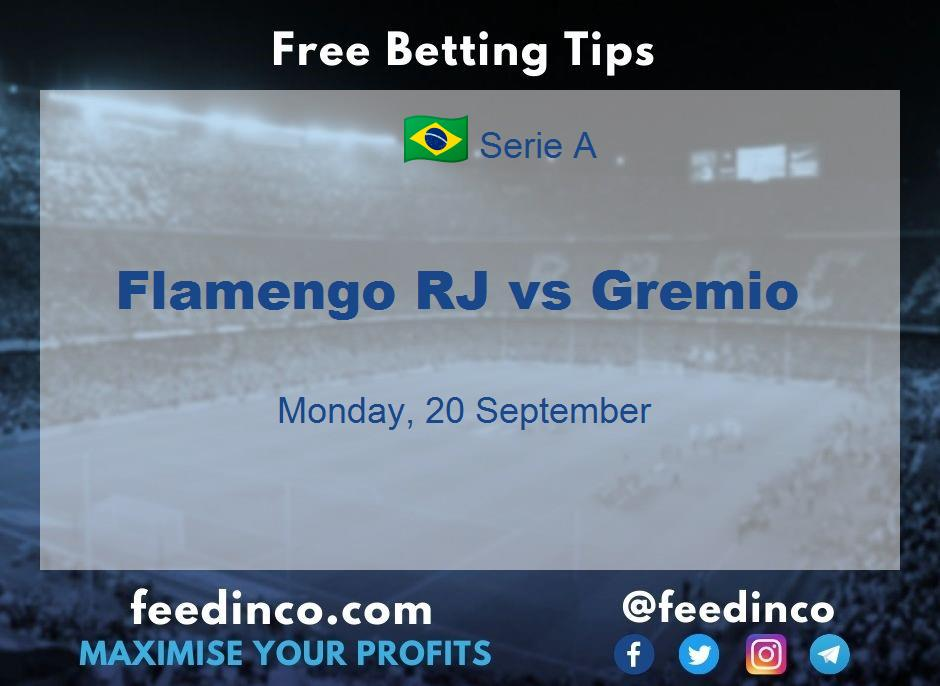 Flamengo RJ vs Gremio Prediction