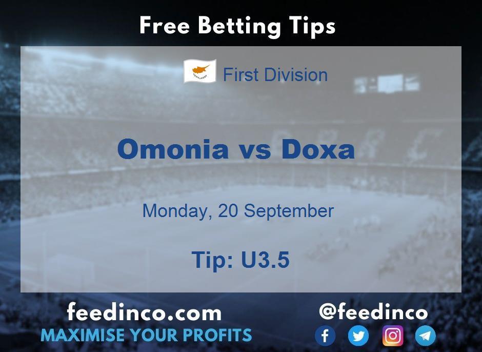 Omonia vs Doxa Prediction