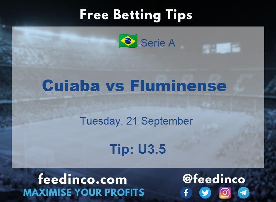 Cuiaba vs Fluminense Prediction