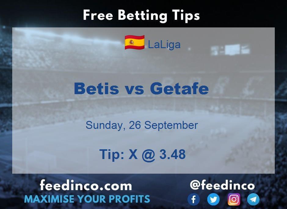 Betis vs Getafe Prediction