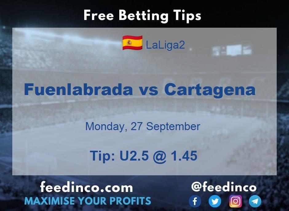 Fuenlabrada vs Cartagena Prediction
