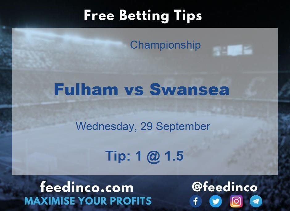 Fulham vs Swansea Prediction