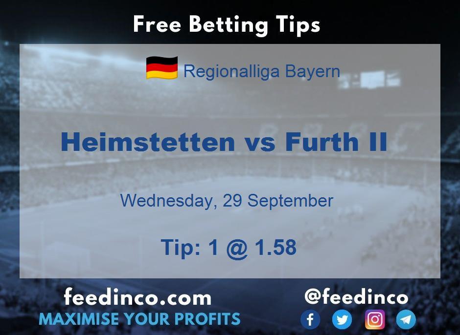 Heimstetten vs Furth II Prediction