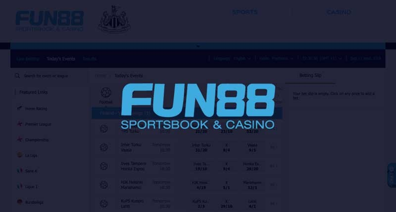 Tips football correct score at Fun88 from long players