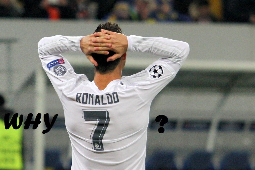 Why Cristiano Ronaldo has number 7?