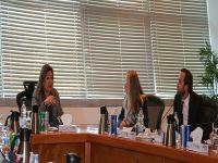 """سفيرة السويد بالقاهرة تبحث مع """"ايتيدا"""" تعزيز التعاون في مجال الابتكار وريادة الأعمال"""