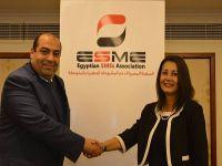المصرية لدعم المشروعات الصغيرة والمتوسطه تعقد صالونها الشهري بحضور نيفين كشميري