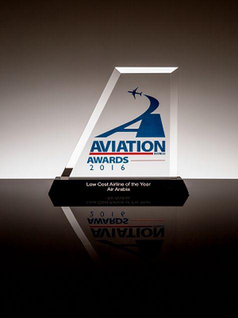 """العربية للطيران تفوز بجائزة """"أفضل شركة طيران اقتصادي للعام"""" خلال حفل توزيع جوائز """"آفييشن بزنس 2016"""""""