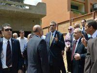 الشرقاوى يتفقد أعمال التطوير بفندق ماريوت القاهرة