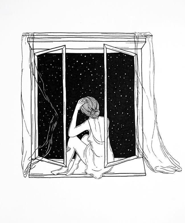 Quisiera gritarle al mundo entero que estoy bien, pero ni yo me creo😔🖤