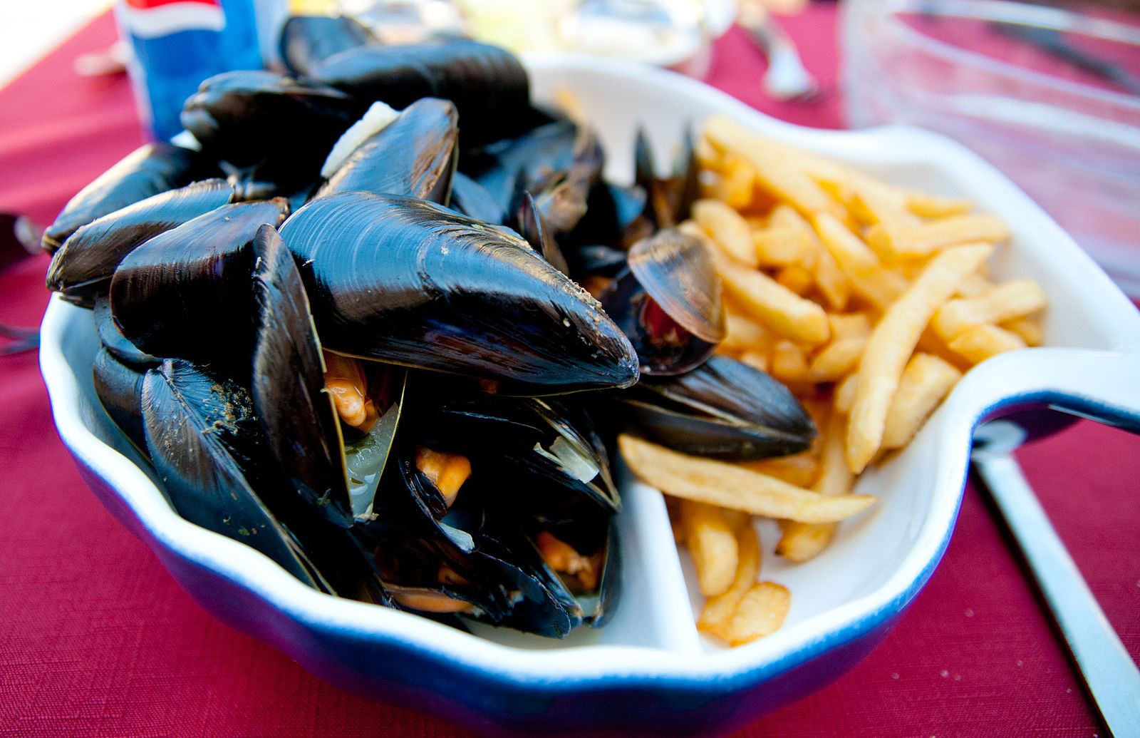 Best Moules Frites in Bruxelles