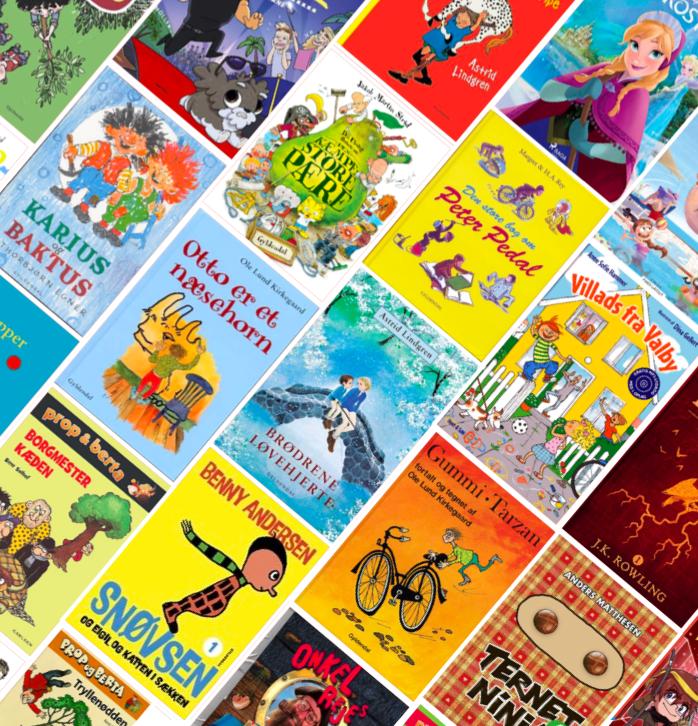 Mofibo's mest populære børnebøger