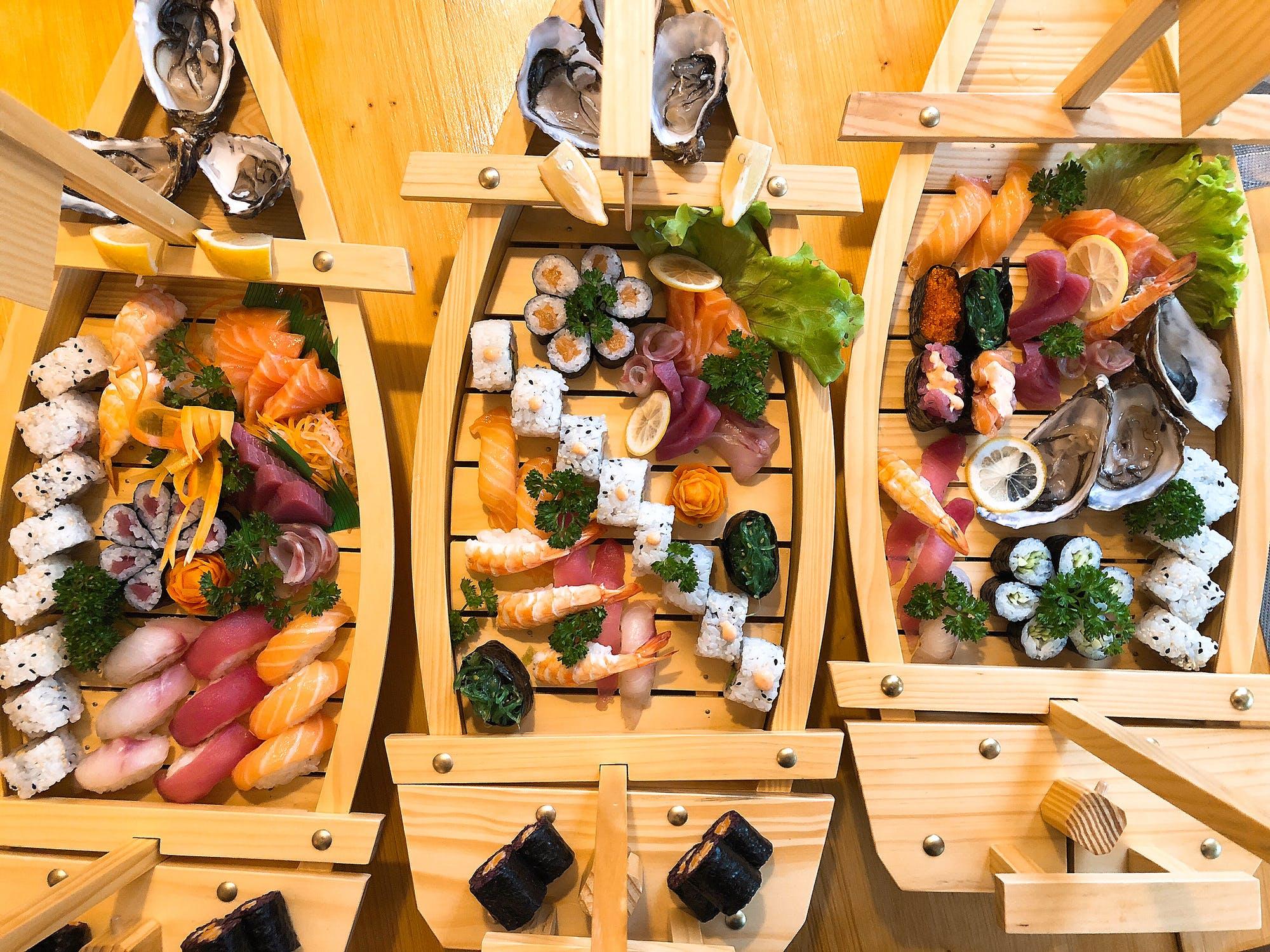 Amazing Sushi in Tokyo