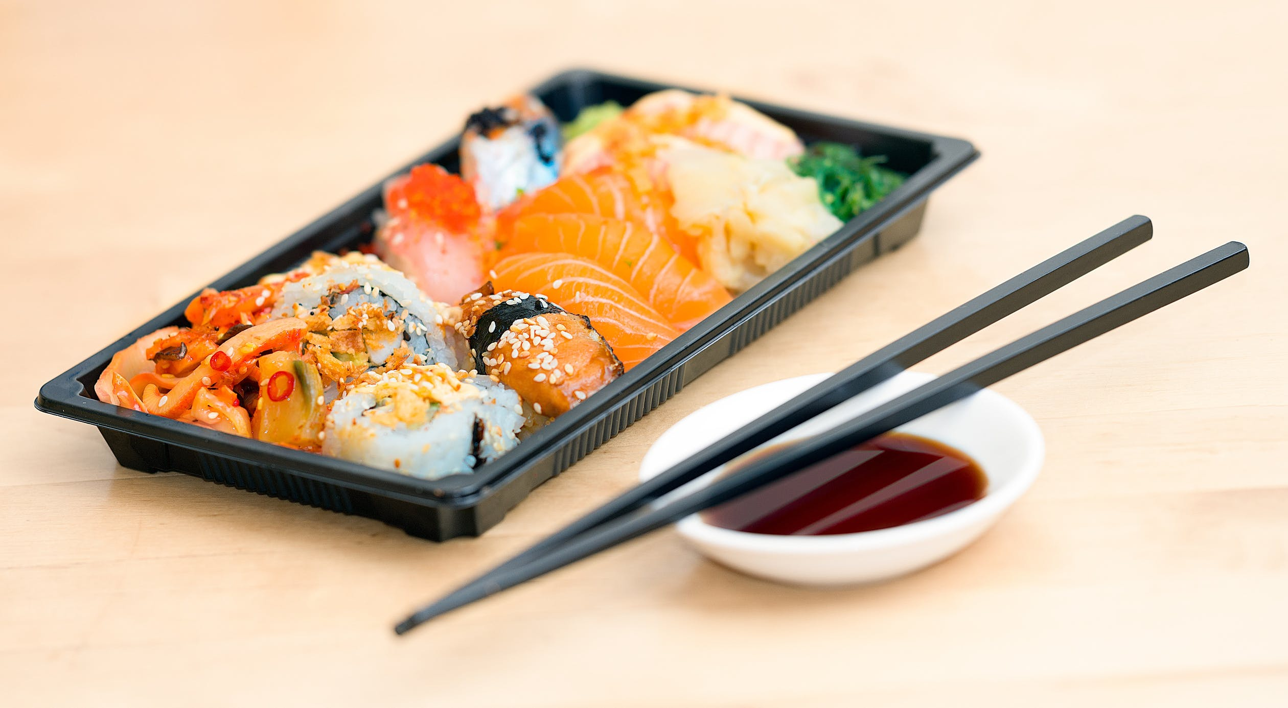 Where to Snag the Best Sushi Takeout in Dallas