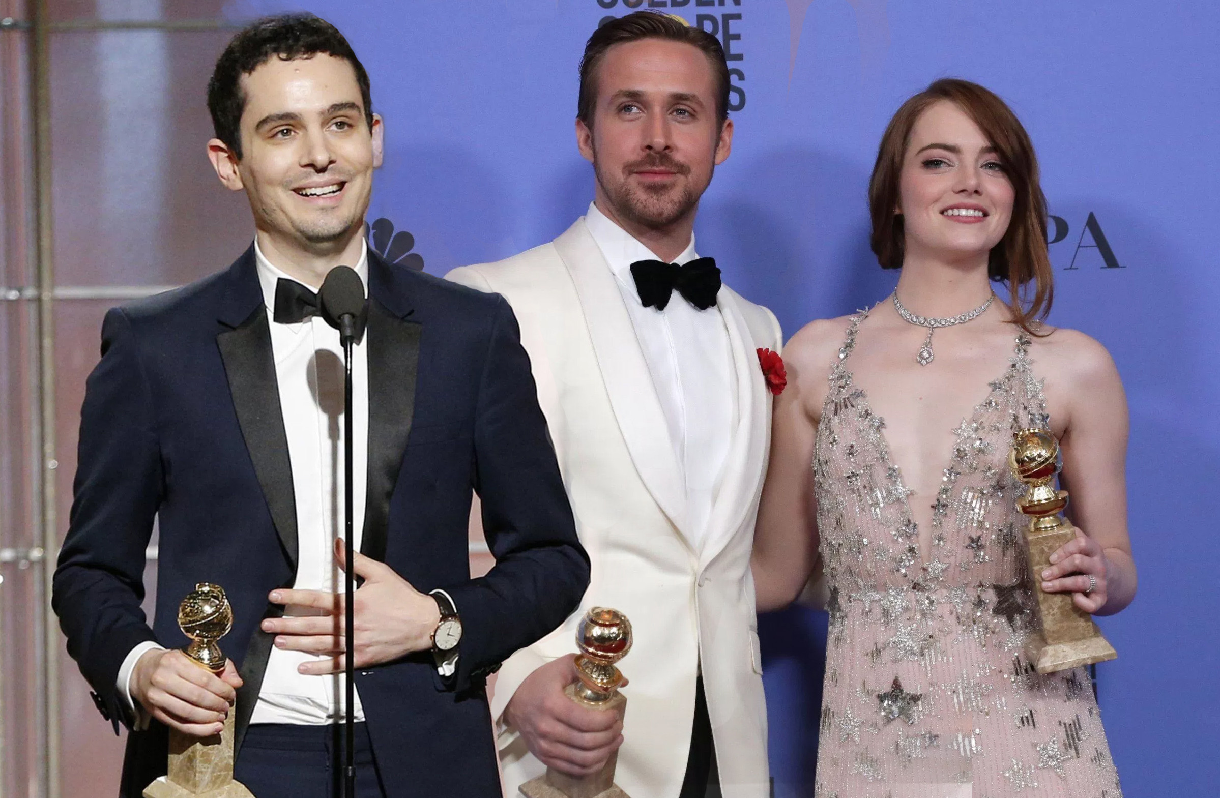 The 2017 Golden Globe Award-Winning Movies