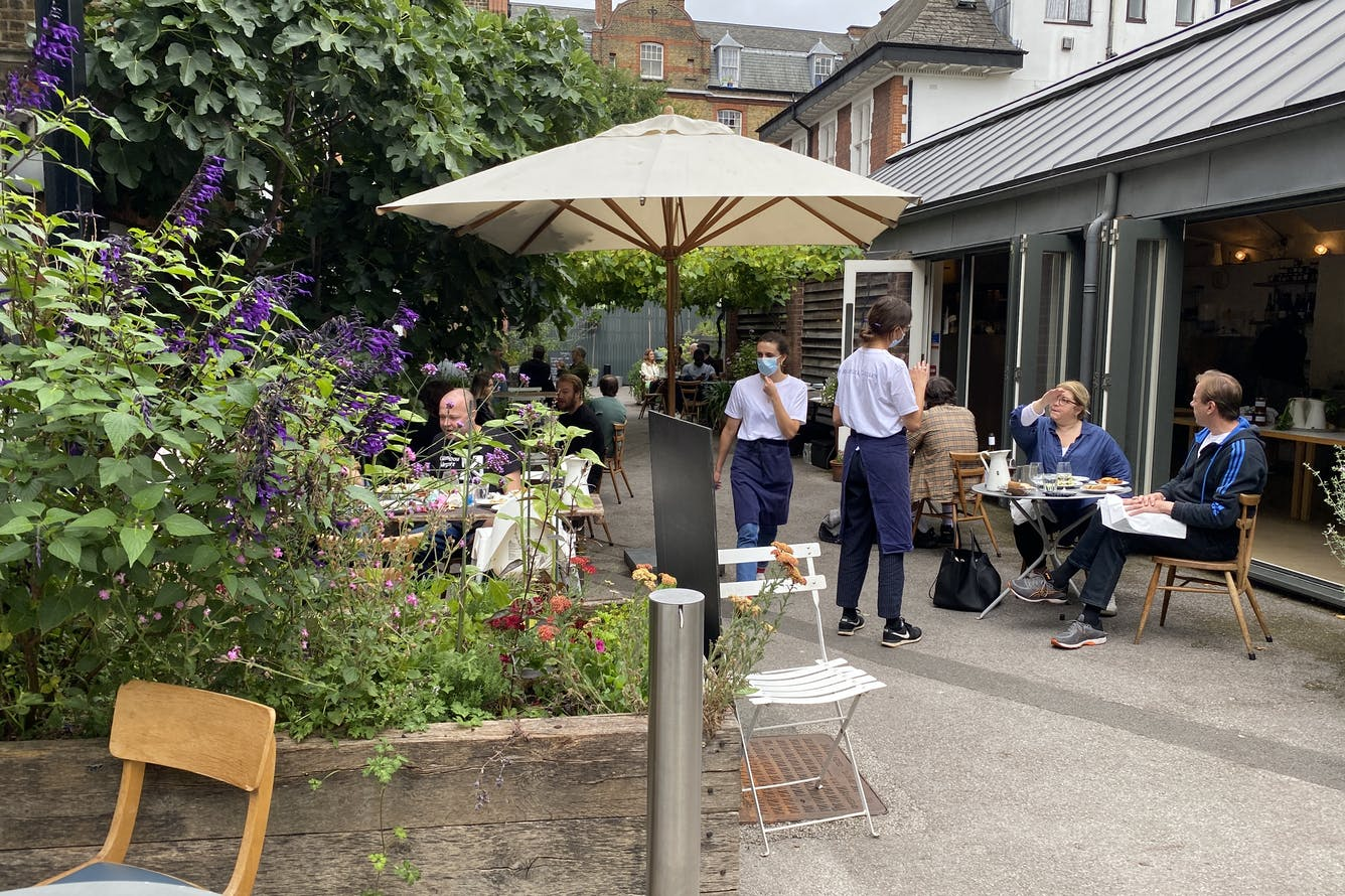 Where To Eat Outside In Shoreditch- Spring 2021