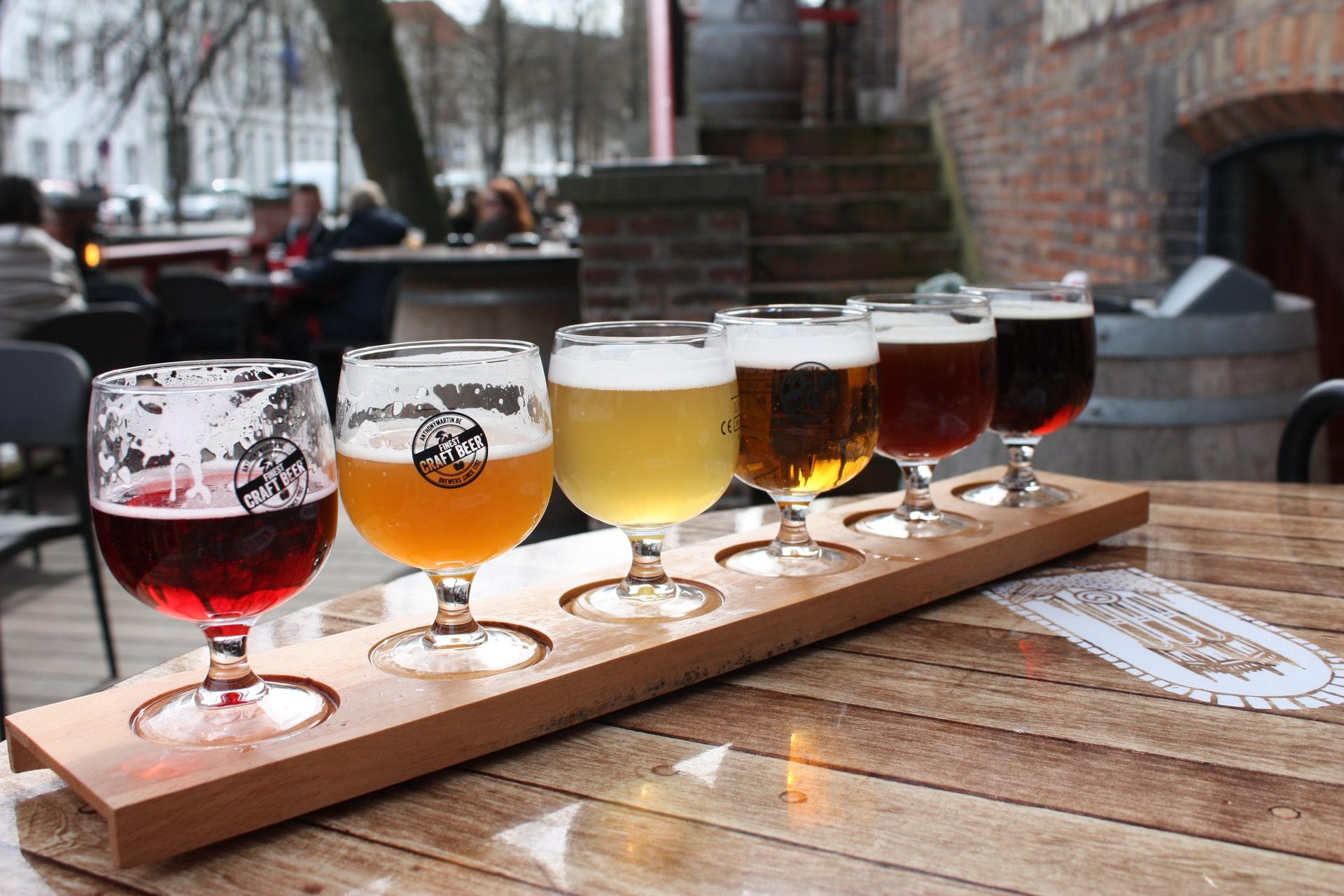 Beer Gardens in Birmingham