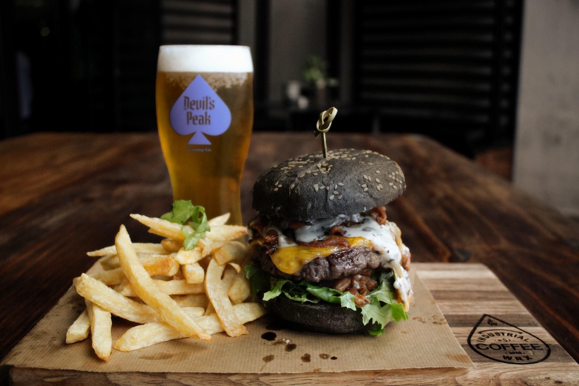 Burgers and Beer in Birmingham