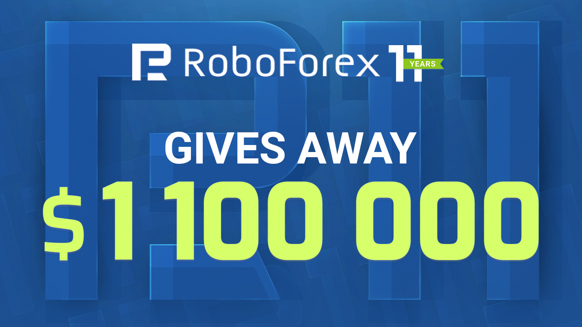 RoboForex Launching New Promo, Raffling $1,100,000 This Time preview