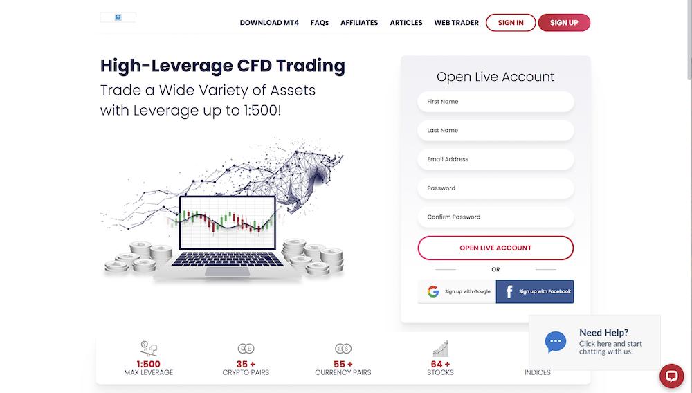 ETFinance website