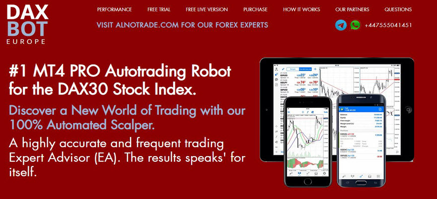 USING DAXBOT EUROPE EXPERT ADVISOR FOR DAYTRADING THE DAX30 preview