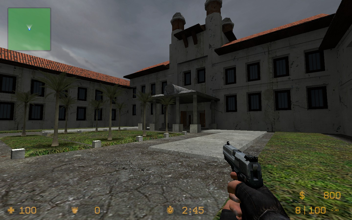 Aim_Hotel Arena Map For CS Source