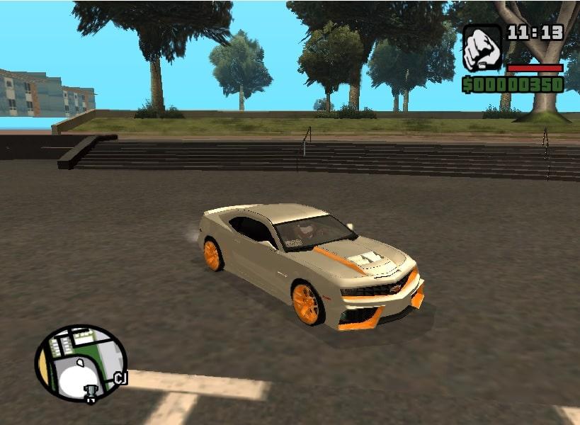 Chevrolet Camaro VR (IVF) For GTA SA