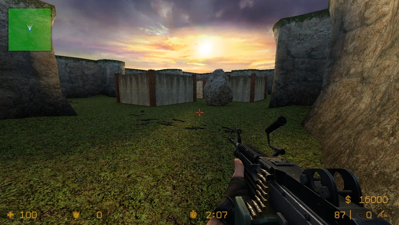 Sunset_Strike Map New For CS Source