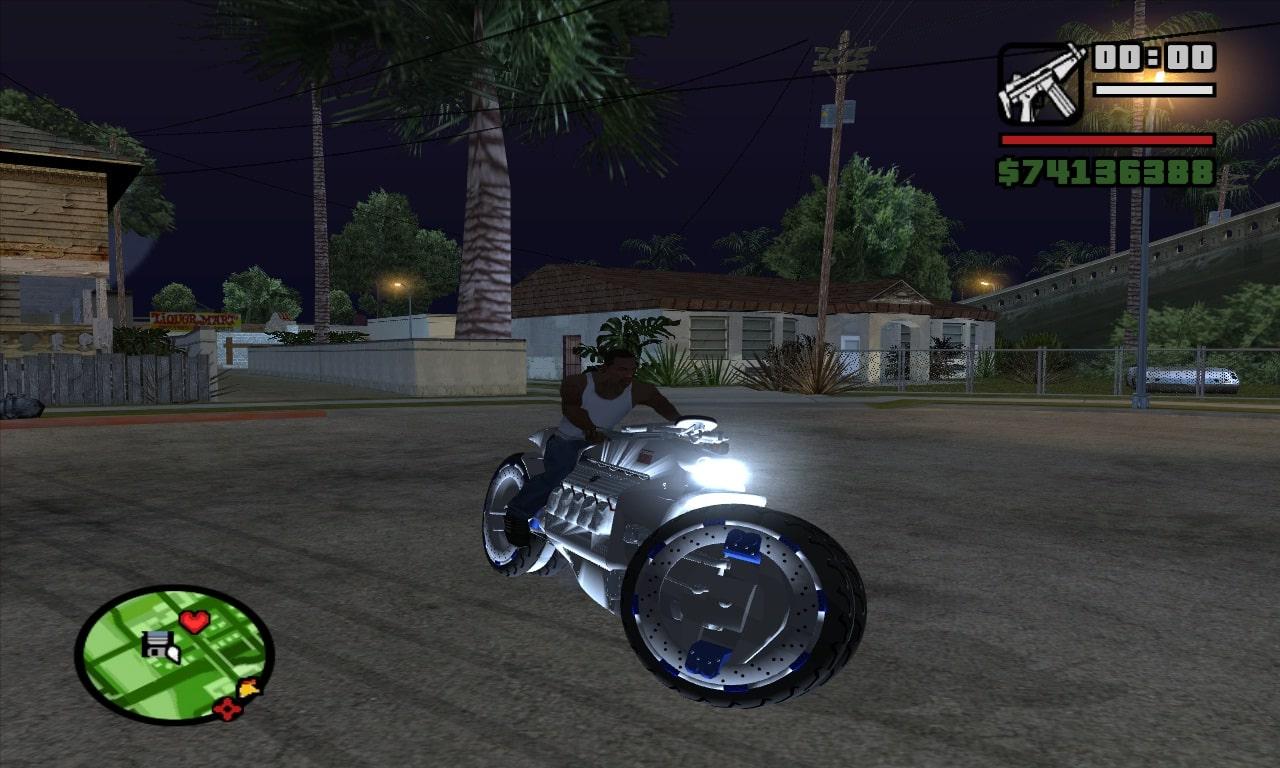 Super Dodge Tomahawk Bike For GTA SA