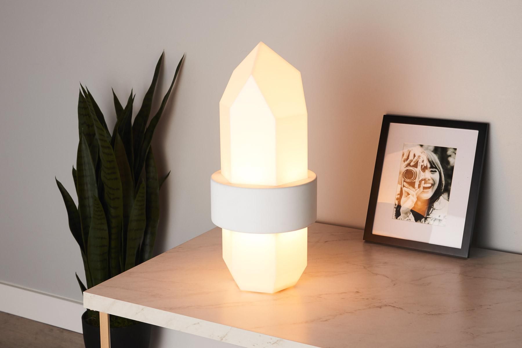 Gantri 3D Crystal Table Lamp