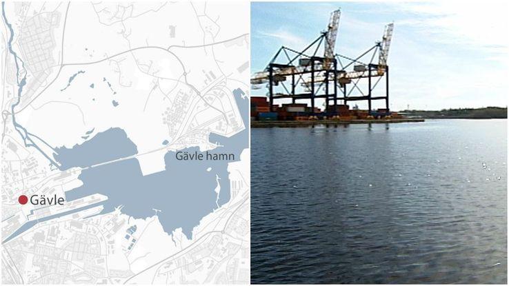 Uppgifter: En misstänkt ubåt i Gävle hamn - Försvarsmakten underrättade ✔ - Plötsligt försvunnen ✔