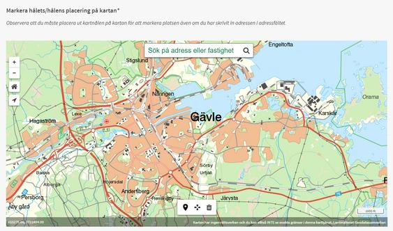 Hjälp Gävle kommun att laga hål i vägen - Via E-tjänst!