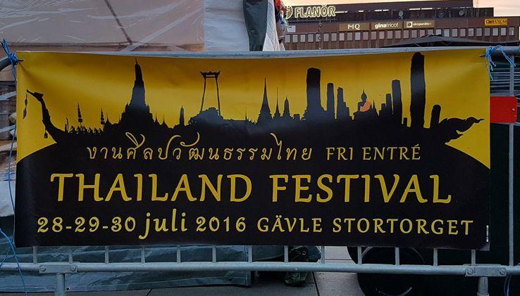 Thailand festival i Gävle 28-30 juli