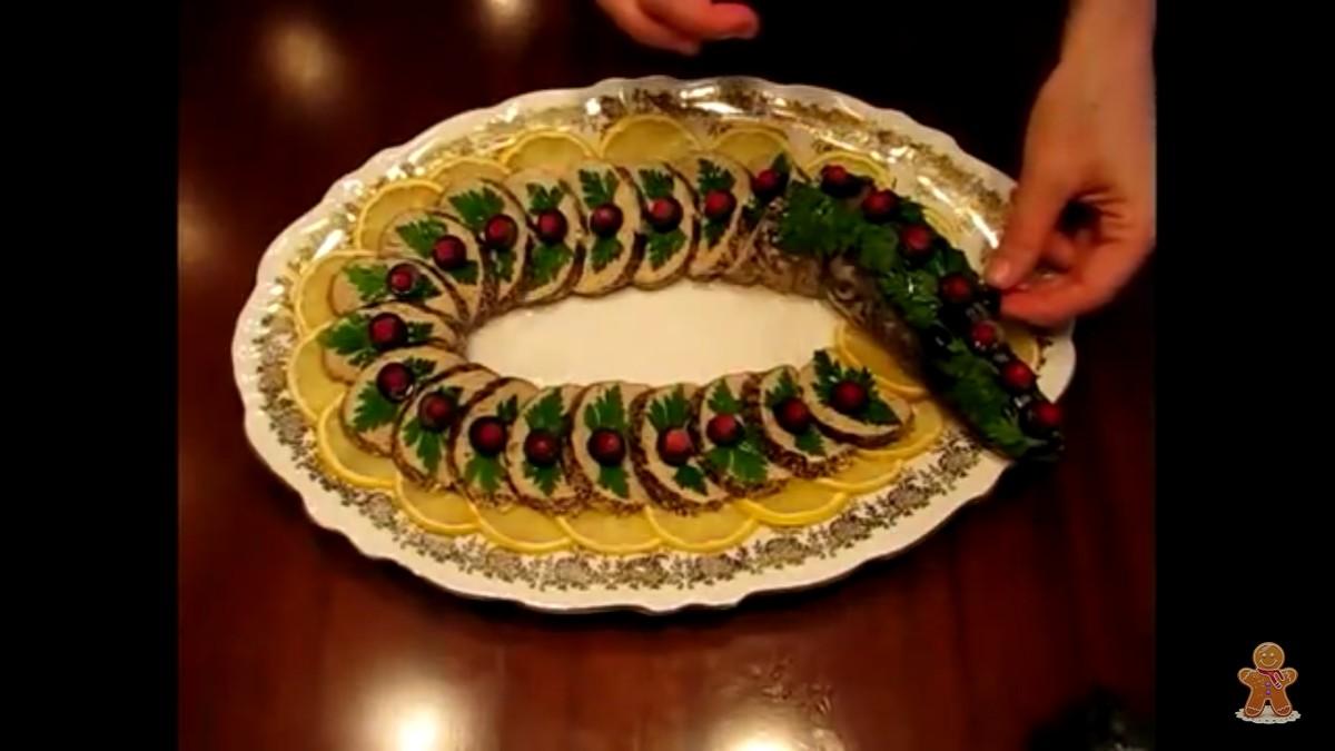 Приготовлю для Вас любимый салатик, холодец, канапе или карзинки : (100)  - 5