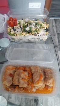 Предлагаю Вам и Вашим коллегам комплексные обеды домашнего приготовления : (65)