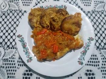 Ayam Geprek: (1)