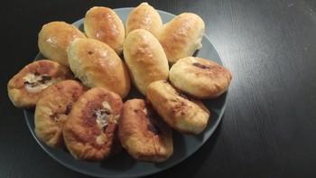 Пирожки печенные: (7)