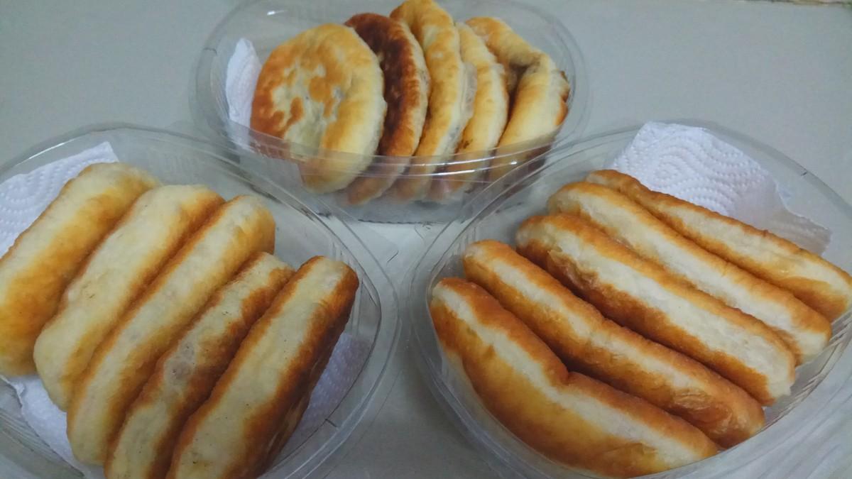Пирожки жаренные: (7)  - 3