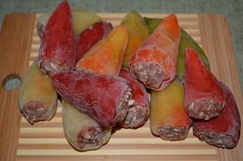 Замарозка Фаршированный перец: (120)