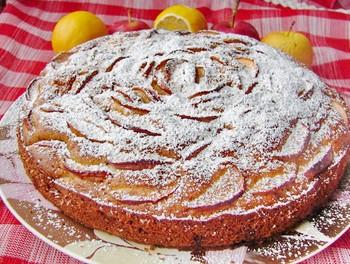Яблучний пиріг: (100)